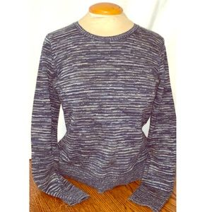 Blue and grey sweater